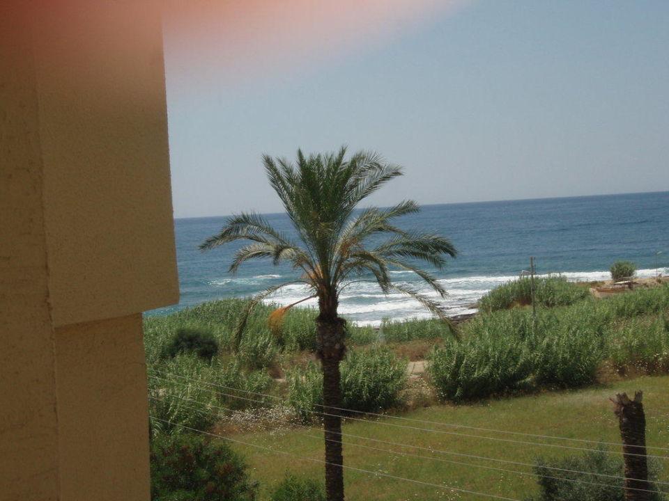 Ausblick Richtung Strand My Kolibri Hotel  (Vorgänger-Hotel – existiert nicht mehr)