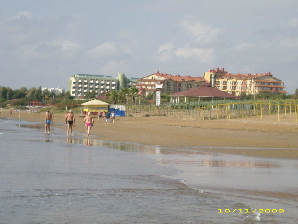 Strand vor dem Hotel Hotel Süral Saray