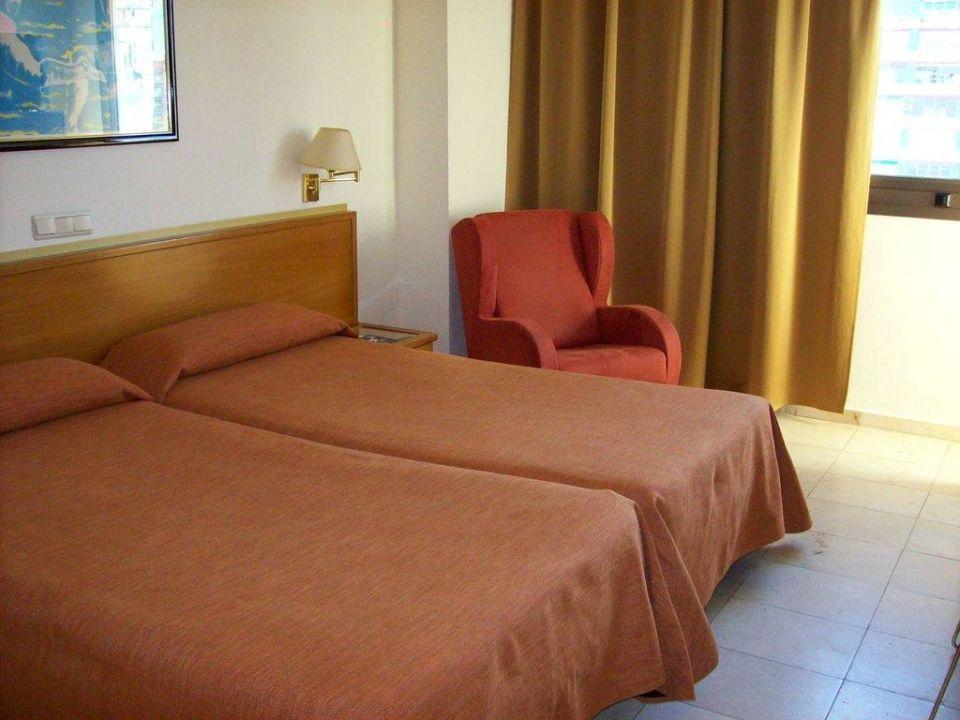 Die beiden Betten Expo Hotel Valencia