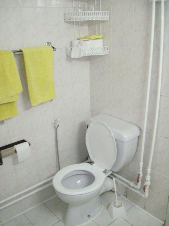 WC Zimmer 318, super sauber Hotel Victoria