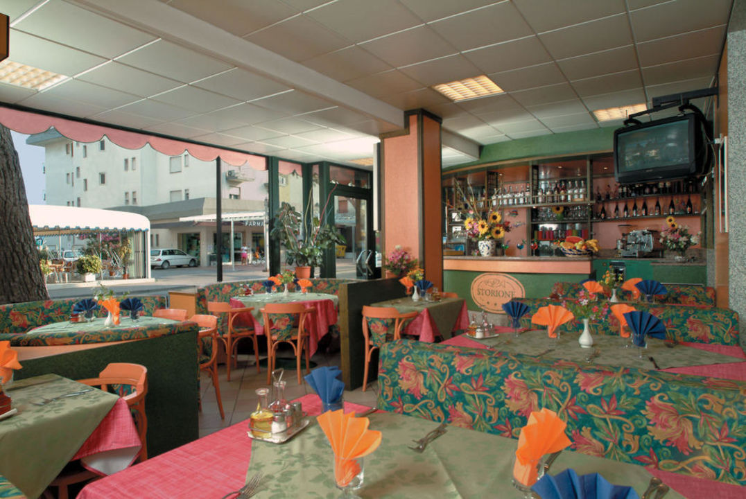 Sala ristorante Hotel Storione