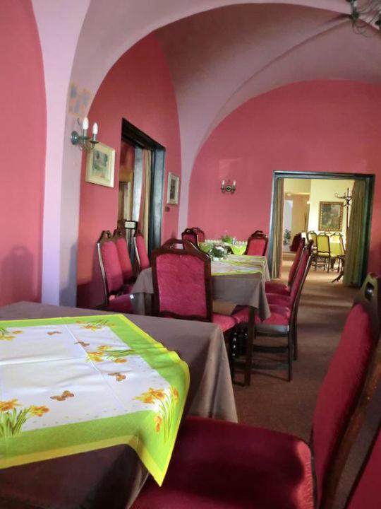 Frühstücksraum Hotel Salva Guarda