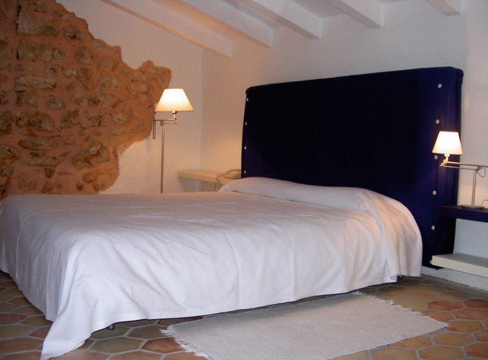 Suite Patio Schlafzimmer Refugio Son Pons
