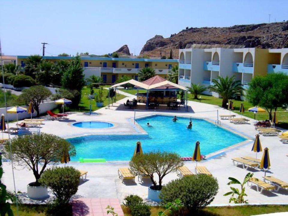 Hotel Lardos Bay auf Rhodos Hotel Lardos Bay