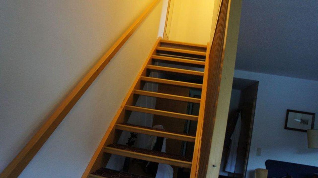 Treppen in der Suite Sporthotel Wagrain