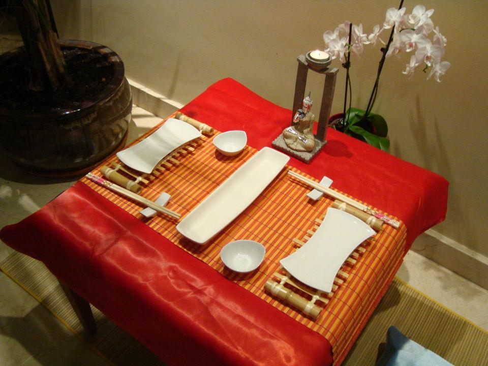 asiatischer abend allsun hotel borneo cala millor. Black Bedroom Furniture Sets. Home Design Ideas