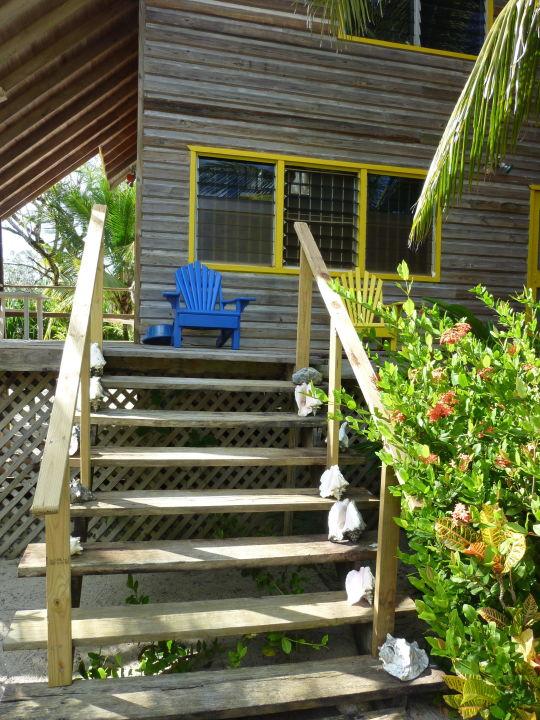 Treppe zum eigenen Beach House Ocean's Edge Beach Houses