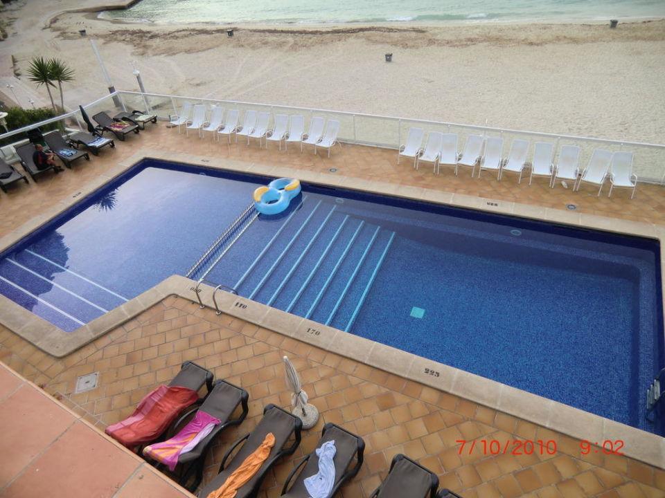Pool im Flamboyan Hotel Flamboyan/Caribe
