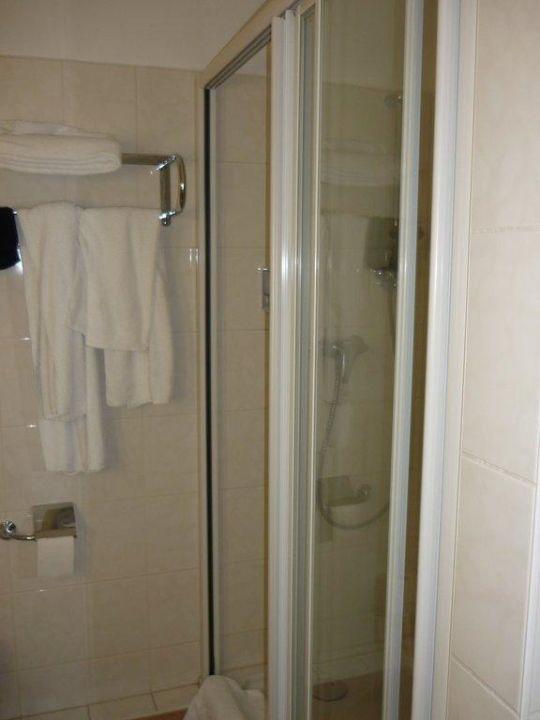 Badezimmer Dusche Apartment-Hotel Hamburg Mitte