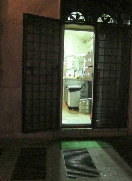 Küche des Restaurants - nachts Hotel Seven Kings Relais