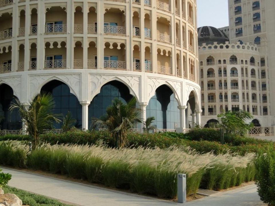 Außenanlagen Al Hamra Residence