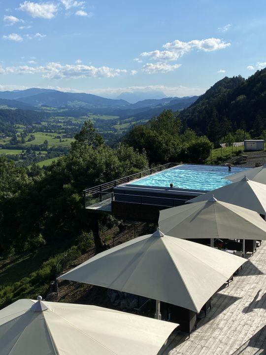 Außenansicht Bergkristall - Mein Resort im Allgäu