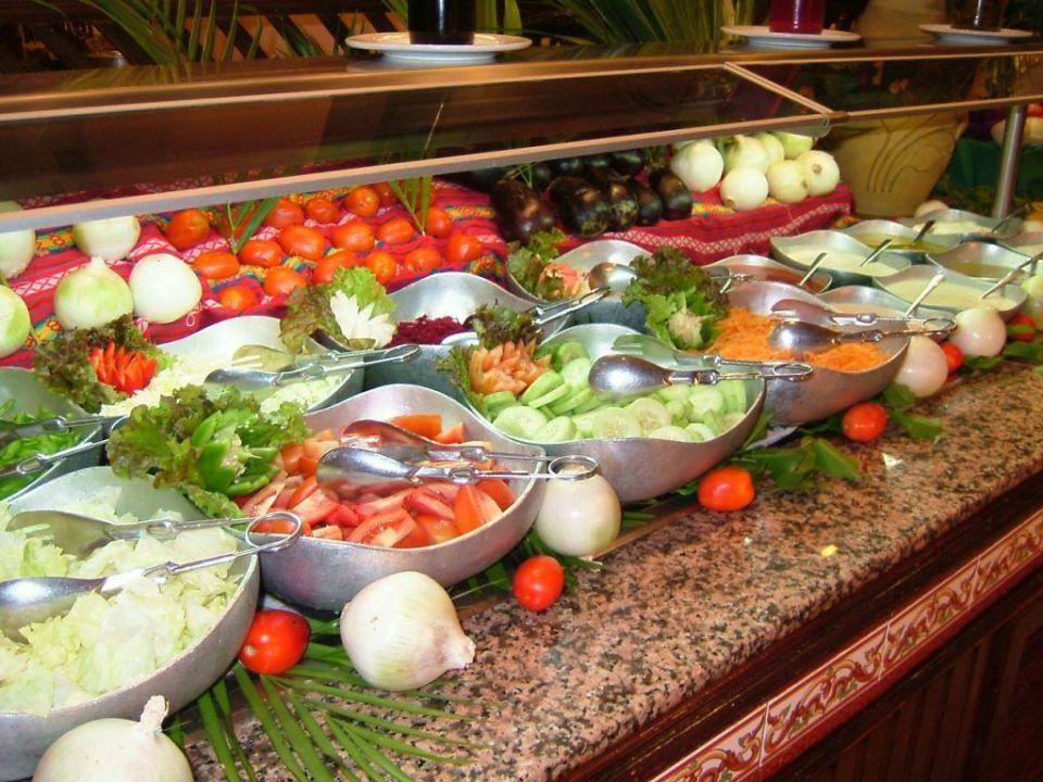 Salatbuffet am Abend RIU Yucatan Hotel Riu Yucatan