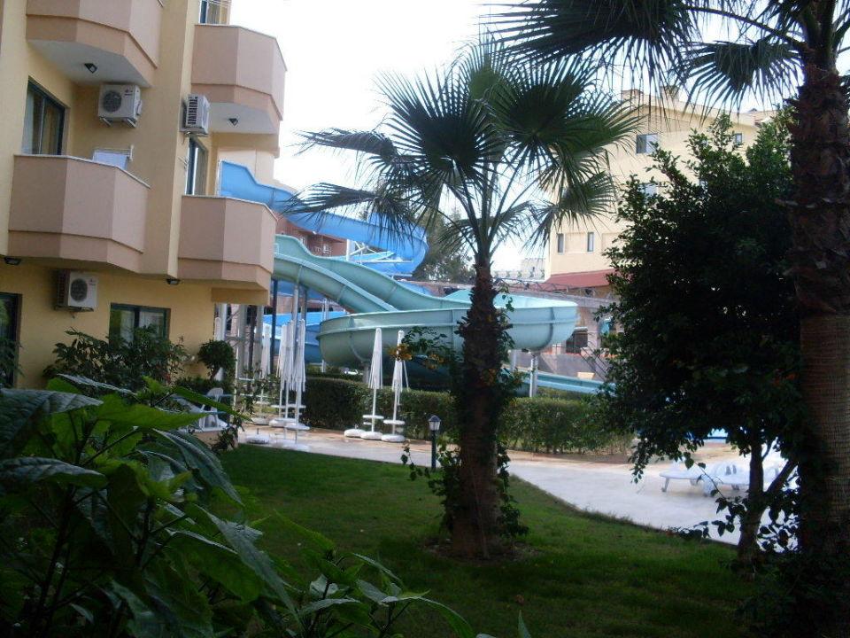 Ausblick vom Zimmer Hotel Grand Seker