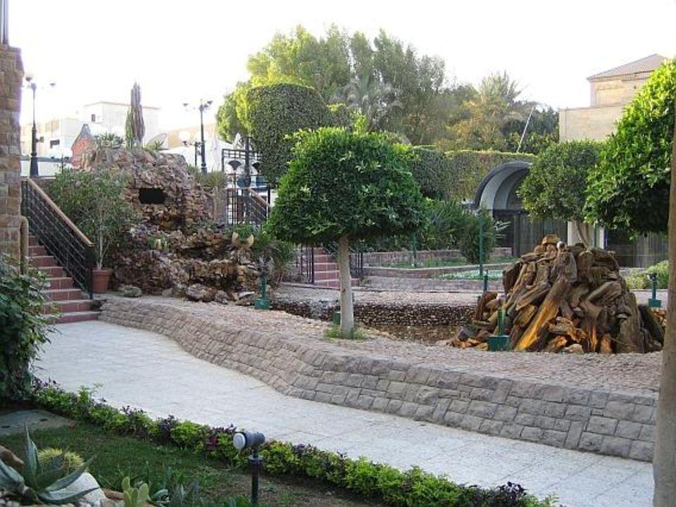 Gartenanlage The Oasis Hotel Pyramids
