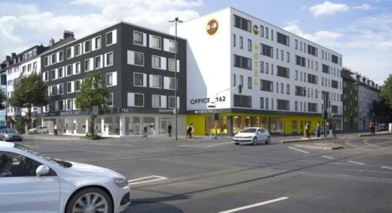 B B Hotel Dusseldorf Hbf Aussenansicht B B Hotel Dusseldorf Hbf