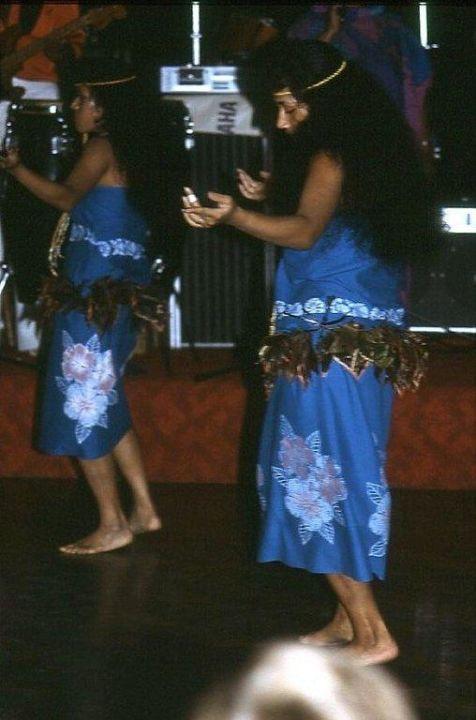 Die Hula-Tänzerinnen Hotel Naviti Resort