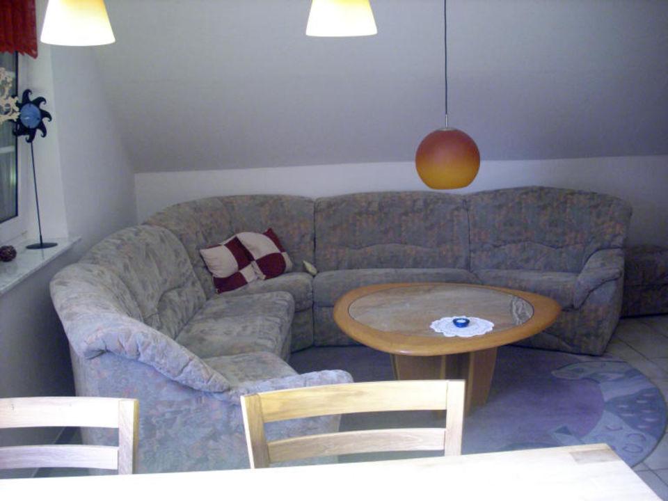 Wohnzimmer Ferienwohnung Aurich
