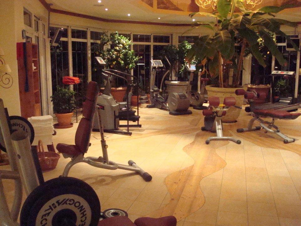 Fitnessraum Luxury DolceVita Resort Preidlhof