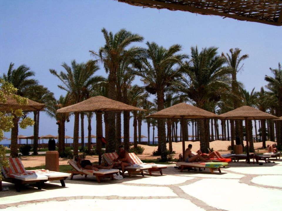 Blick auf den Strand Makadi Palace