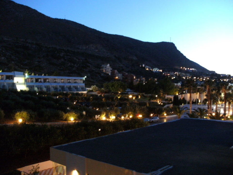 Ausblick vom Balkon Hotel Royal Belvedere