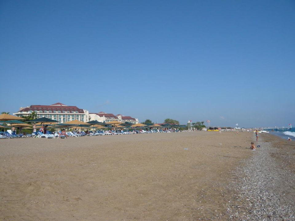 Strand mit kleinen Steinen Nashira Resort Hotel & AQUA-SPA