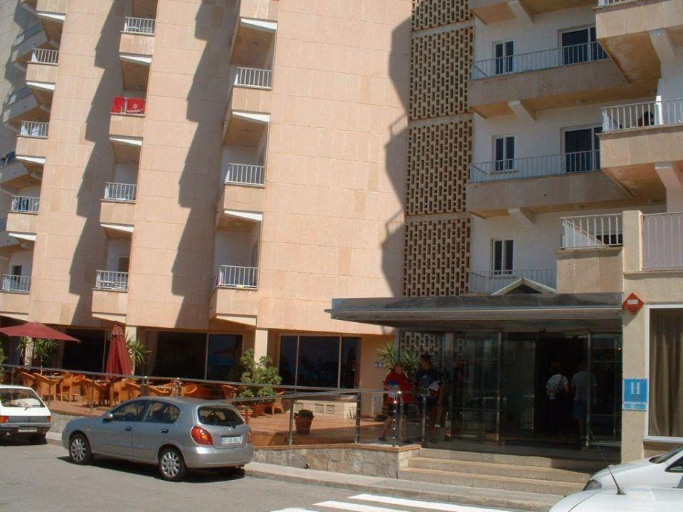 Hotel Eingang Gran Bahia Hotel & Apartments