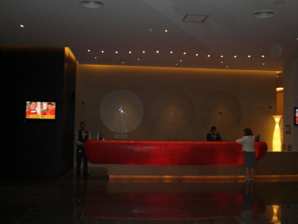 Rezeption Hotel Ibis Mall of the Emirates