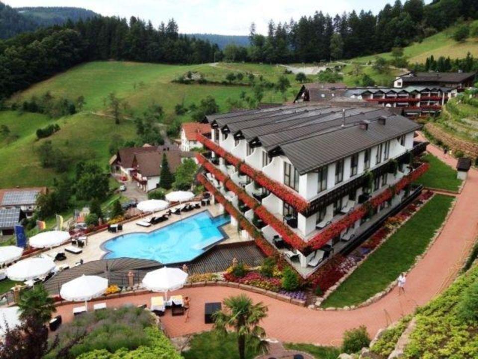 Sicht Vom Berg Hotel Dollenberg Bad Peterstal Griesbach