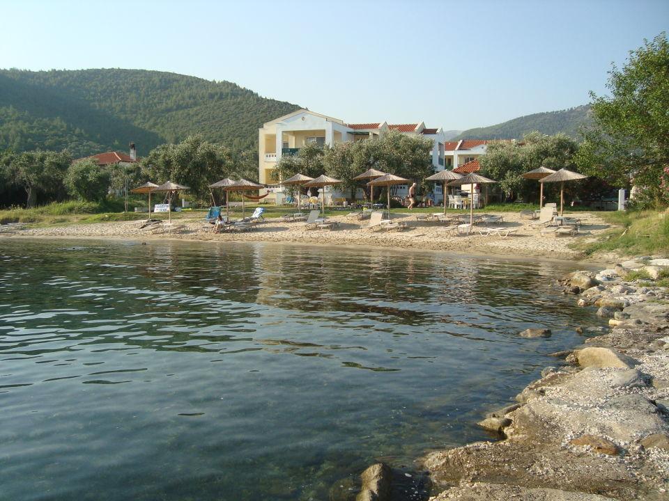 Außenansicht Hotel Aegean Sun