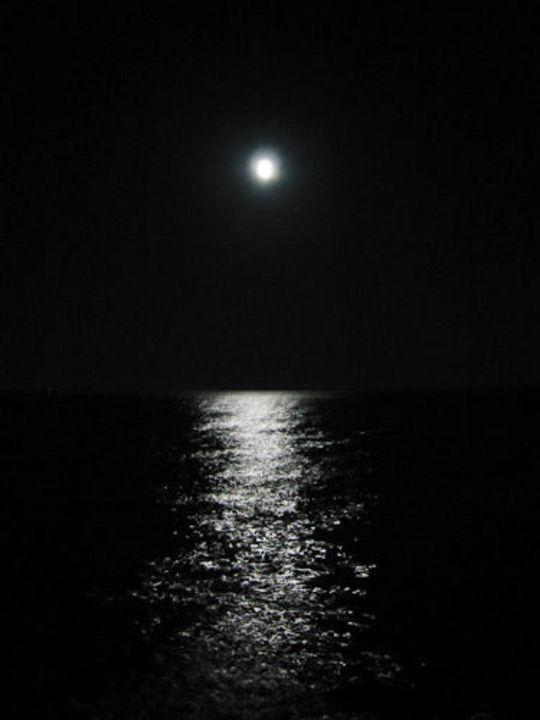Das Meer vorm Iberotel Arabella bei Nacht Arabella Azur Resort