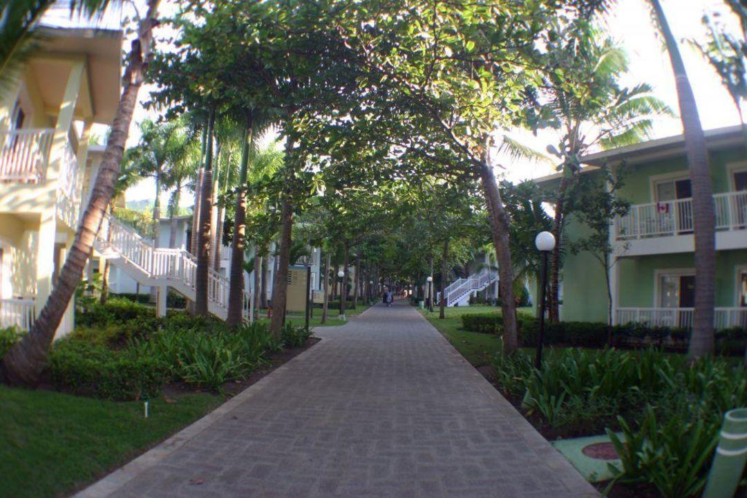 Blick in die Anlage Merengue Village