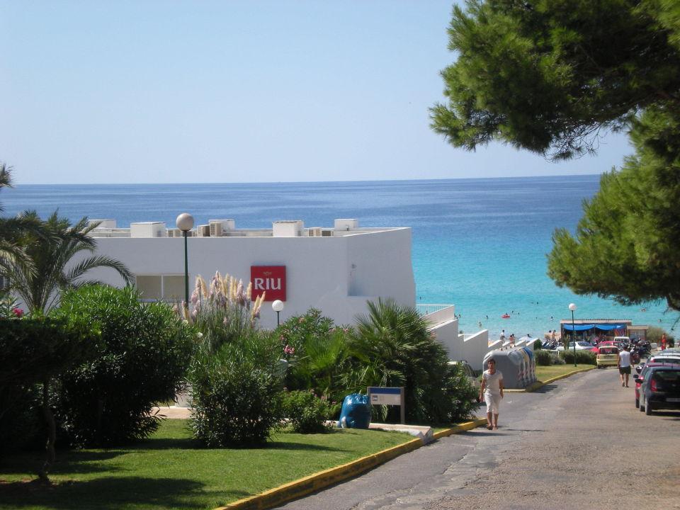 Hotel direkt am strand hotel riu la mola es calo for Hotel in warnemunde direkt am strand