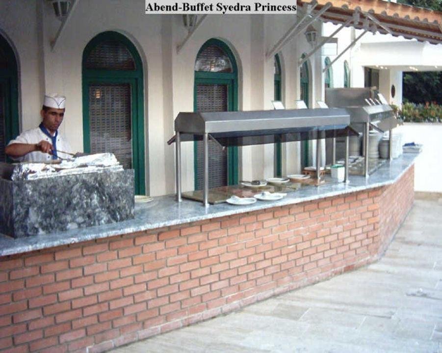 Das Abend-Buffet Syedra Princess Hotel Syedra Princess