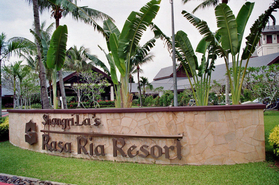 Aussenansicht Hotel Shangri-La Rasa Ria Resort