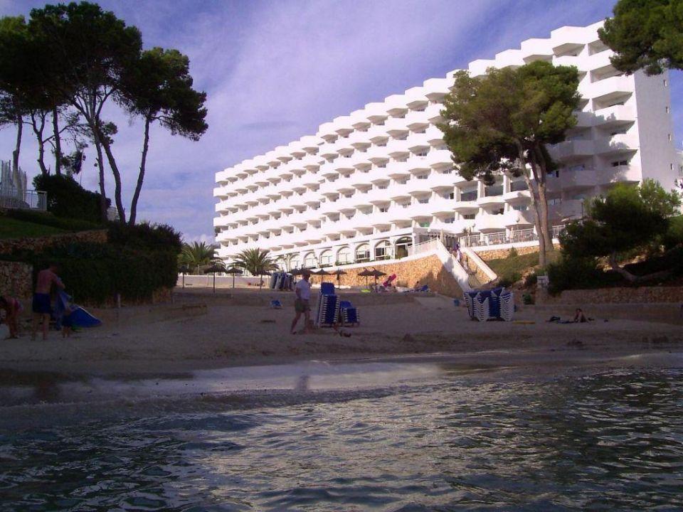 Unser Hotel und der Strand AluaSoul Mallorca Resort