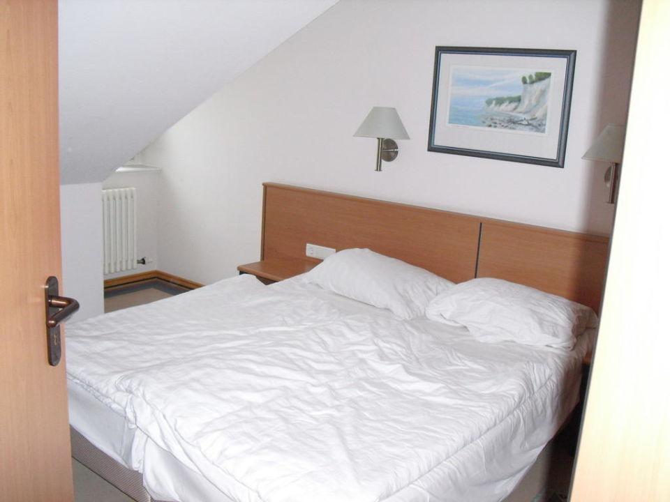 Schlafzimmer Ferienwohnungen Dünenpark Binz