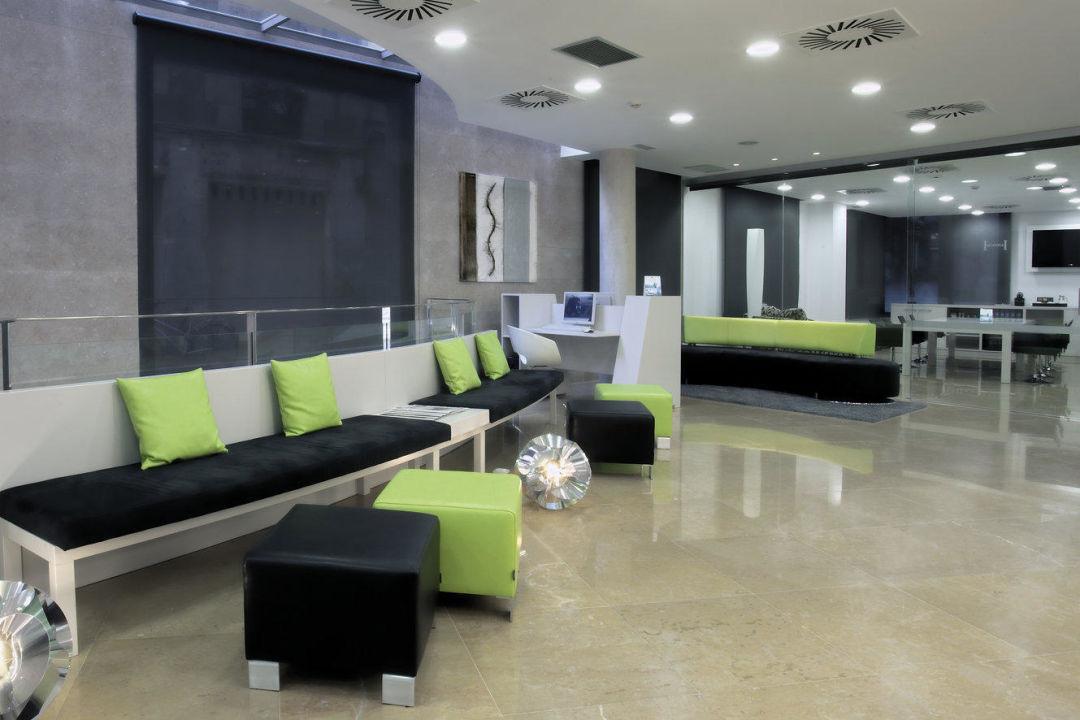 Lobby NH Barcelona Ramblas