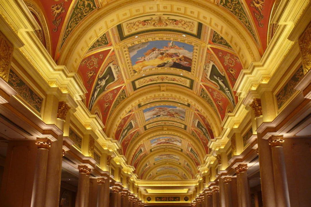 Der Eingangsbereich zum Casino The Venetian Macao Resort & Casino