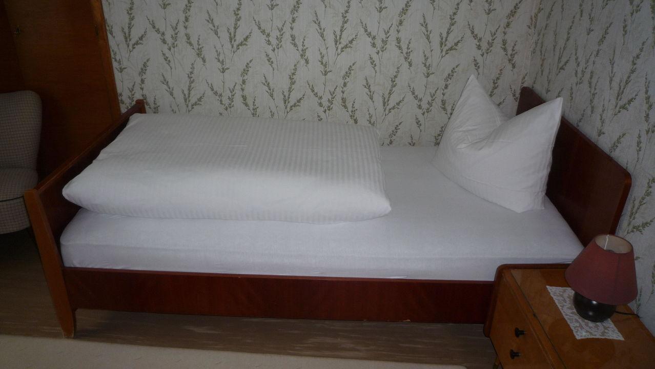 Das Bett aus dem die (60er-)Träume sind. Hotel Garni Reis