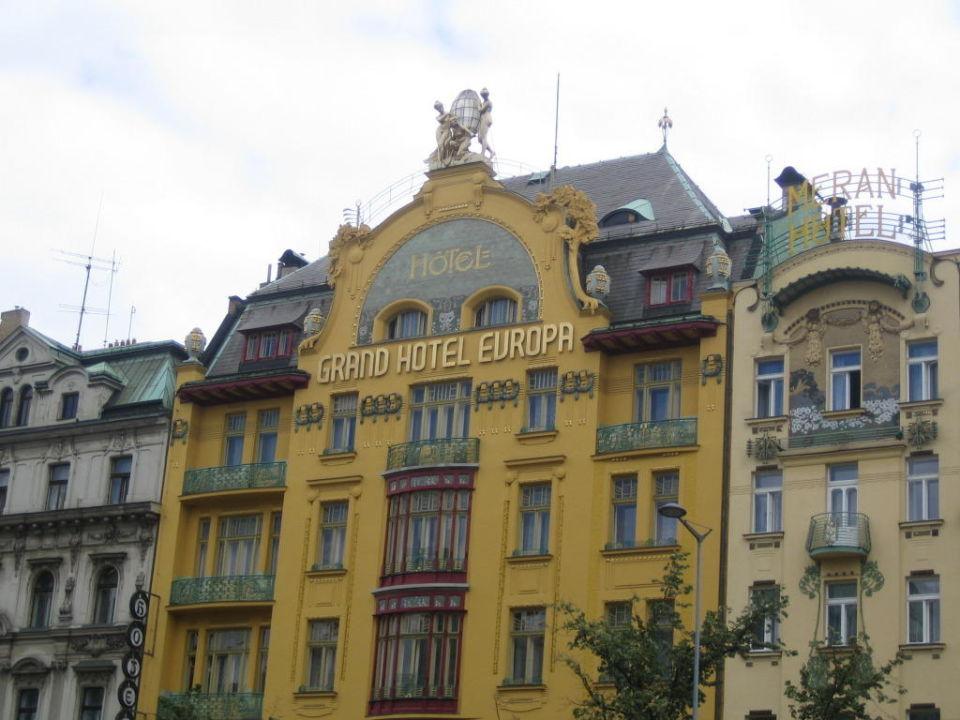 Hotel Europa Prag Geschlossen