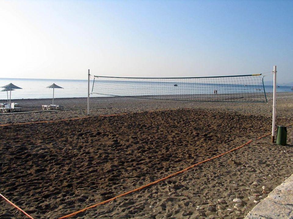 Volleyball-Feld am Long Beach Kiriş World Hotel by Voyage  (geschlossen)