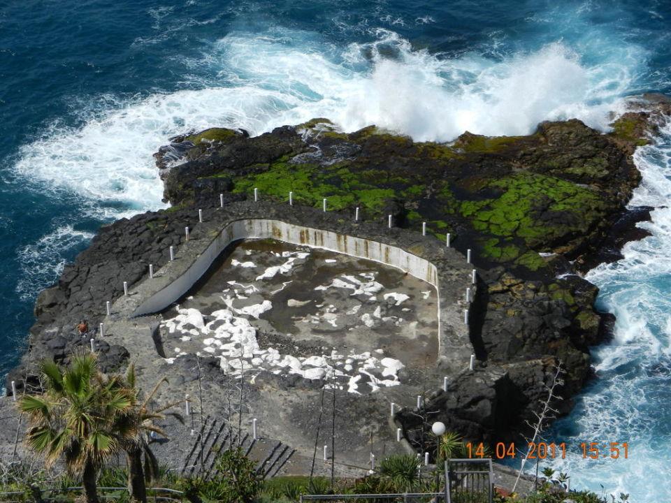 Meerwasserpool Des Hotels Hotel Best Semiramis Puerto De La Cruz