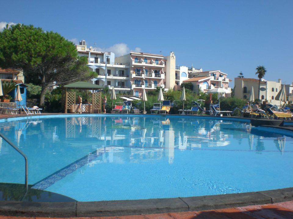 Großer Pool Hotel Arathena Rocks
