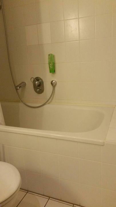 Ausstieg aus der Dusche...in der Schräge\
