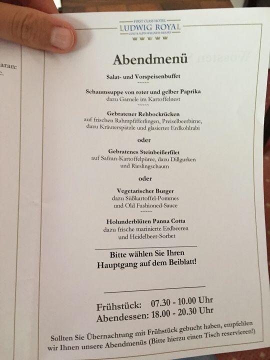 Golf Alpin Wellness Resort Hotel Ludwig Royal Oberstaufen