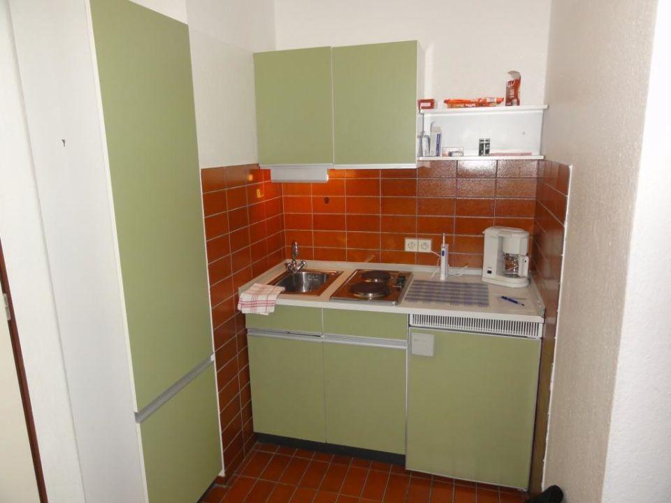 Abgerockte 70er-Jahre Küche\
