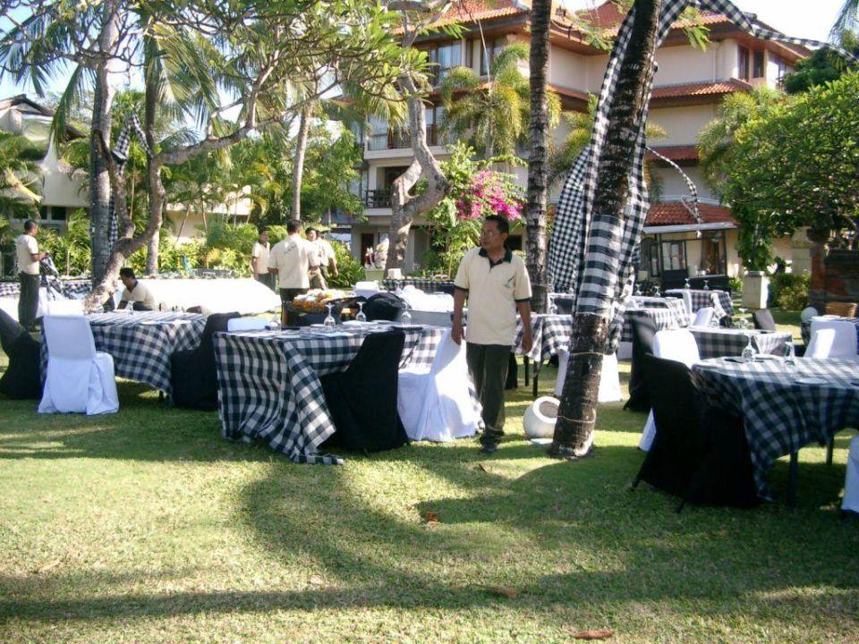 Abendbuffet The Westin Resort Nusa Dua, Bali