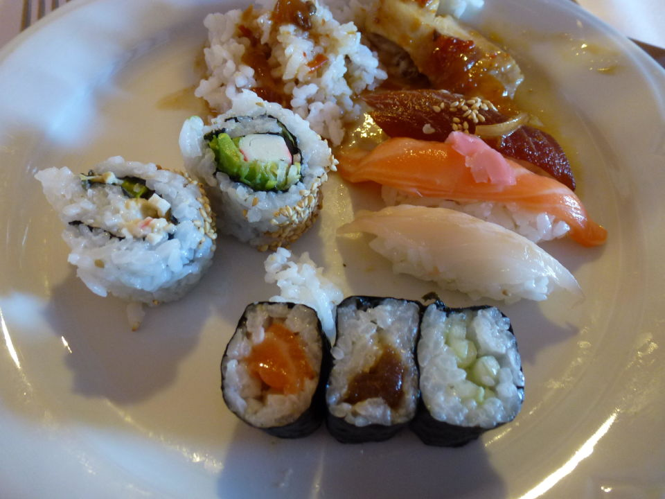 Lecker Sushi 3 Mal die Woche Sensimar Isla Cristina Palace & Spa
