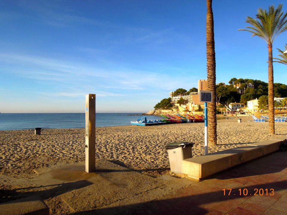Der Strand Von Paguera Allsun Hotel Paguera Park Peguera